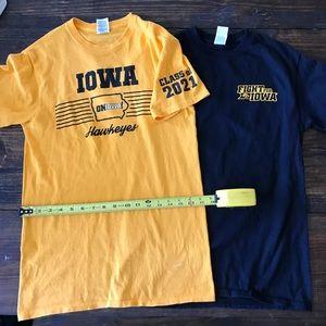 Adult Small Iowa Hawkeyes Shirts